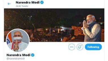 Lockdown 2: लॉकडाउन की अवधि बढ़ाने के बाद पीएम मोदी ने बदला अपना Twitter प्रोफाइल Photo, मुंह पर गमछा बांधे हुए आ रहे हैं नजर