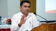Goa Assembly Elections 2022: TMC के चुनावी मैदान में आने पर बोले Pramod Sawant, 'उन्हें आने दो, सभी को गोवा पसंद है'