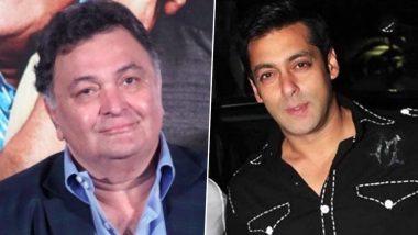 RIP Rishi Kapoor: ऋषि कपूर के निधन पर सलमान खान ने माफी मांगते हुए किया ट्वीट, लिखा- कहा सुना माफ, चिंटू सर