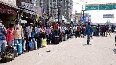 महाराष्ट्र से उत्तर प्रदेश जा रहे मजदूरों ने मध्यप्रदेश के बड़वानी में किय हंगामा