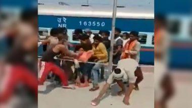 COVID-19: बिहार के कटिहार रेलवे स्टेशन पर बिस्किट की हुई छीनाझपटी, देखें विडियो