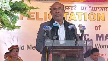 Covid-19 Vaccine मणिपुर के मुख्यमंत्री ने लोगों से कोविड-19 रोधी टीका लगवाने की अपील की