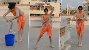पोछे के साथ एक्शन मोड़ में दिखी विद्युत जामवाल की हिरोइन अदा शर्मा, वीडियो देख हो जाएंगे इम्प्रेस