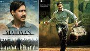 अजय देवगन की फिल्म 'मैदान' का 16 एकड़ का सेट मानसून के कारण डिस्मेंटल किया गया