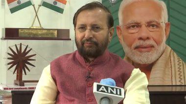 केंद्रीय मंत्री प्रकाश जावड़ेकर का पश्चिम बंगाल सरकार पर हमला, कहा- भारत और बंगाल के बीच युद्ध चाहते हैं कुछ लोग