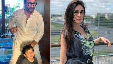 Lockdown: सैफ अली खान ने घर पर ही काटे बेटे तैमूर अली खान के बाल, करीना कपूर ने शेयर की क्यूट फोटोज