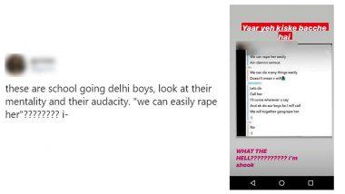 Bois Locker Room इस Instagram ग्रुप में दिल्ली के युवक कर रहे थे गैंगरेप की बात, ट्विटर पर पुलिस से एक्शन की हो रही है मांग