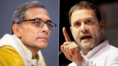 राहुल गांधी से बातचीत के दौरान अभिजीत बनर्जी ने कहा- लोगों के हाथ में पैसे देने से पटरी पर आएगी अर्थव्यवस्था