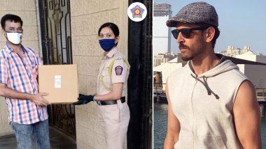 ऋतिक रोशन ने एक बार फिर कोरोना से लड़ाई में बढ़ाया मदद का हाथ, मुंबई पुलिस ने किया शुक्रिया