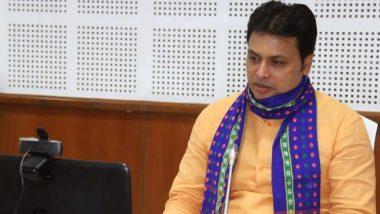 त्रिपुरा: मुख्यमंत्री बिप्लब कुमार देब की कोरोना रिपोर्ट आई निगेटिव, परिवार के सदस्य पॉजिटिव