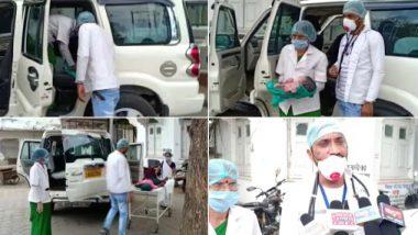 मध्य प्रदेश: प्रवासी महिला को स्क्रीनिंग के दौरान हुई प्रसव पीड़ा,  SDM की गाड़ी में अस्पताल ले जाते वक्त बच्चे को दिया जन्म