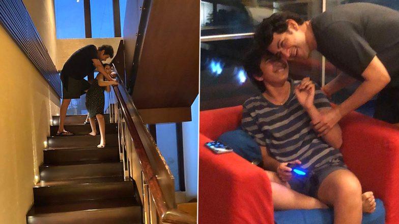 साउथ के सुपरस्टार महेश बाबू बेटी संग बिता रहे समय, शेयर की फोटो