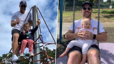 Lockdown: डेविड वार्नर लॉकडाउन में बिता रहे हैं बेटी के साथ वक्त, फैंस के साथ शेयर की ये क्यूट Photos