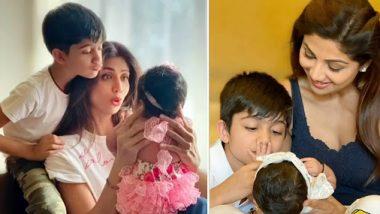 शिल्पा शेट्टी ने बेटे विवान के साथ शेयर की बेटी समिशा शेट्टी की ये क्यूट फोटो, इंटरनेट पर हुई Viral