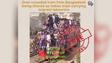 Fact Check: मुंबई से पश्चिम बंगाल गई 'श्रमिक स्पेशल ट्रेन' में थी बंपर भीड़? जानें वायरल वीडियो का सच