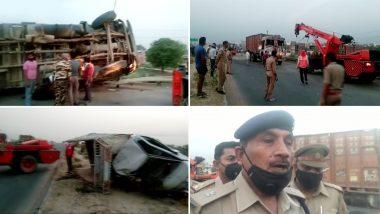 उत्तर प्रदेश: इटावा सड़क हादसे में 6 मजदूरों की मौत, सीएम योगी आदित्यनाथ का ऐलान- मृतकों के परिवार को 2 लाख, घायलों को 50 हजार रुपये का मुआवजा
