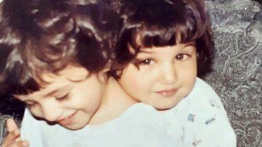 तारा सुतारिया ने अपनी बहन पिया के साथ पुरानी फोटो को किया शेयर, कहा- हम दोनों 'बेबी मोमोज' की तरह दिख रहें हैं