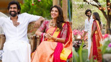 राणा दग्गुबाती और उनकी मंगेतर मिहिका बजाज की नई फोटोज आई सामने, देखते ही बन रही दोनों की जोड़ी