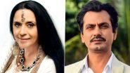 नवाजुद्दीन सिद्दीकी, इला अरुण ने 'घूमकेतु' के एक मजेदार सीन के बारे में बात की