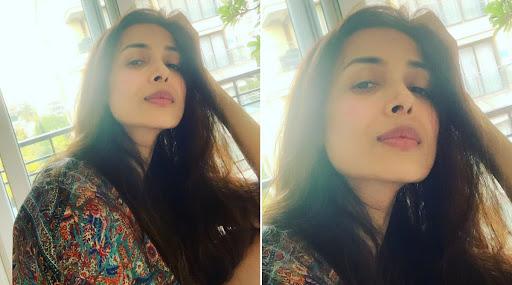 मलाइका अरोड़ा ने अपनी इमारत को सैनिटाइज किए जाने की झलकी पेश की