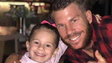ऑस्ट्रेलियाई क्रिकेटर डेविड वार्नर ने अपनी बेटी के साथ इंस्टाग्राम पर शेयर की खूबसूरत तस्वीर