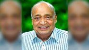 केरल: राज्यसभा सांसद और मातृभूमि समूह के MD एमपी वीरेंद्र कुमार का दिल का दौरा पड़ने से निधन