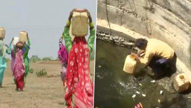 मध्य प्रदेश: गर्मी से बेहाल जनता, सीहोर में पानी की तलाश के लिए 2 किलोमीटर दूर जा रहे लोग