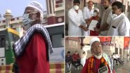 उत्तर प्रदेश: चारबाग रेलवे स्टेशन पर 80 वर्षीय बुजुर्ग कुली मुजीबुल्ला प्रवासी मजदूरों और कामगारों की कर रहें हैं निःशुल्क सेवा