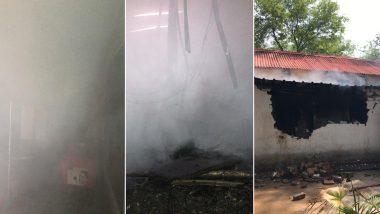दिल्ली: आर्मी कैंटीन में भीषण आग, मौके पर पहंची फायर ब्रिगेड की 8 गाड़ियां