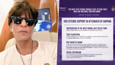 अम्फान के पीड़ितों के लिए सामने आए शाहरुख खान, टीम केकेआर करेगी पश्चिम बंगाल में मदद का काम