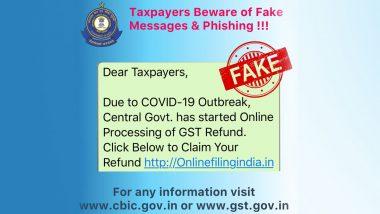 मोदी सरकार ने नहीं की GST रिफंड की ऑनलाइन प्रोसेसिंग शुरू, CBIC ने किया फेक न्यूज का पर्दाफाश