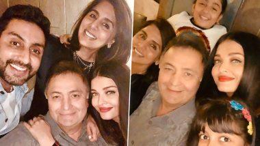 RIP Rishi Kapoor: ऐश्वर्या राय बच्चन ने ऋषि कपूर संग फैमिली फोटो शेयर कर लिखा इमोशनल नोट, कहा- हमेशा मिस करेंगे