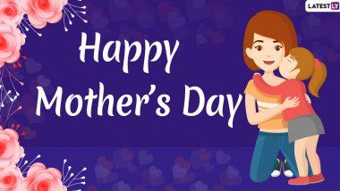 Happy Mother's Day 2020 Wishes: मदर्स डे पर इन WhatsApp Stickers, Facebook Messages, HD Images, SMS, Wallpapers के जरिए अपनी मां को दें इस खास दिन की शुभकामनाएं