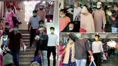मुंबई: कोरोना वायरस से पीड़ित 56 मरीजी हुए ठीक, अस्पताल से मिली छुट्टी