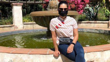 Lockdown: सनी लियोन ने कोरोना काल में मास्क पहनकर शेयर की ये फोटो, सोशल डिस्टेंसिंग का पालन करने की दी सलाह