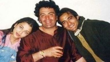 दिवंगत अभिनेता ऋषि कपूर के साथ ऐश्वर्या रॉय और अक्षय खन्ना की पुरानी तस्वीर सोशल मीडिया पर हुई वायरल, देखें फोटो
