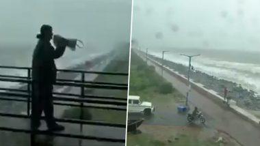 भारतीय तटों की ओर बढ़ा 'अम्फान', ओडिशा और पश्चिम बंगाल में बारिश शुरू, कई मकान तबाह