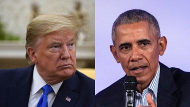 US Presidential Election 2020: बराक ओबामा ने अच्छा काम नहीं किया था, इसलिए मैं राष्ट्रपति बना