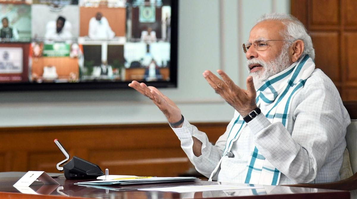 पीएम मोदी बोले- कोरोना वायरस से अनहेल्थी जीवनशैली की ओर गया सबका ध्यान; भारत की स्थिति बेहतर
