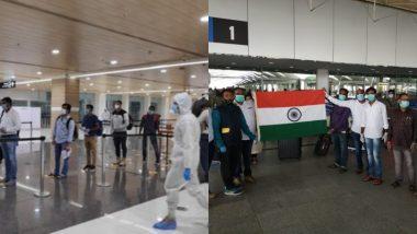 'वंदे भारत मिशन' के तहत अमेरिका से 168 भारतीय पहुंचे हैदराबाद