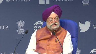 नागरिक उड्डयन मंत्री हरदीप सिंह पुरी ने कहा- सब कुछ ठीक रहा तो अगस्त से पहले शुरू की जा सकती है अंतरराष्ट्रीय  विमान सेवाएं