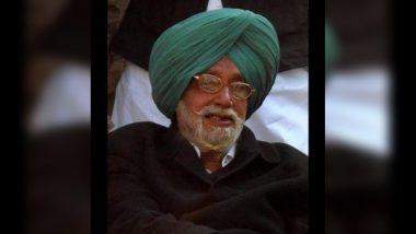 पंजाब के पूर्व मुख्यमंत्री प्रकाश सिंह बादल के छोटे भाई गुरदास बादल का निधन