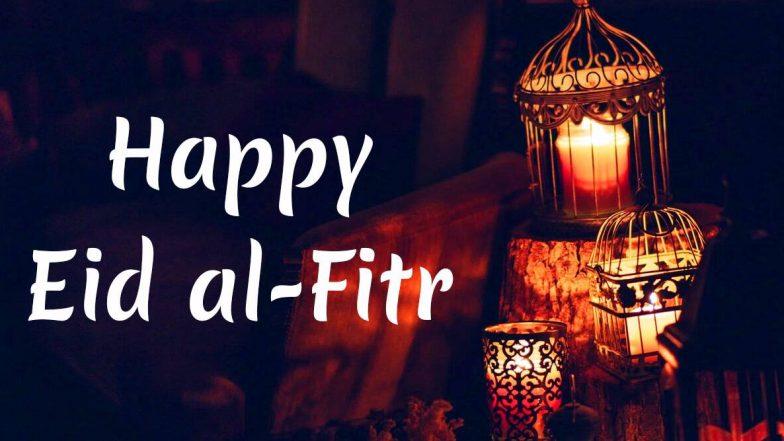 Eid Al-Fitr 2020 Wishes & Greetings: रमजान के समापन का जश्न मनाएं और अपनों से कहें ईद मुबारक, भेजें ये खूबसूरत WhatsApp Stickers, GIF Images, Quotes, SMS और Facebook Messages