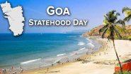 Goa Statehood Day 2020: गोवा दिवस पर राष्ट्रपति रामनाथ कोविंद, सीएम प्रमोद सावंत और राहुल गांधी समेत इन नेताओं ने दी गोवा वासियों को बधाई
