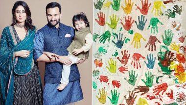 करीना ने सैफ अली खान और तैमूर के साथ बनाया खास आर्टवर्क, फोटो सोशल मीडिया पर की शेयर