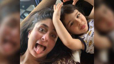 करीना कपूर खान ने मदर्स डे के मौके पर तैमूर अली खान के साथ शेयर की ये क्यूट फोटो