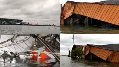 Cyclone Amphan: चक्रवाती तूफान अम्फान का कहर, कोलकाता एयरपोर्ट के एक हिस्से में भरा पानी; देखें वीडियो