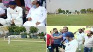 लॉकडाउन का उल्लंघन कर क्रिकेट खेलने सोनीपत पहुंचे दिल्ली बीजेपी चीफ मनोज तिवारी, न पहना मास्क और न किया सोशल डिस्टेंसिंग का पालन (Watch Photos & Videos)