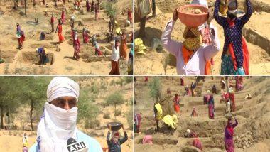 कोरोना संकट के चलते जयपुर में शिक्षक मनरेगा में मजदुरी करने को मजबूर, रोजाना मिलते हैं 220 से 235 रुपये
