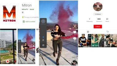 TikTok की जगह लेगा Mitron? जानें 5 मिलियन से ज्यादा डाउनलोड वाले इस मजेदारVideo मेकिंग एप के बारे में
